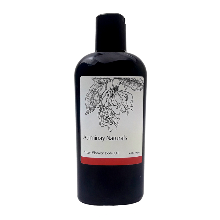 Natural Skincare Products - After Shower Body Oil