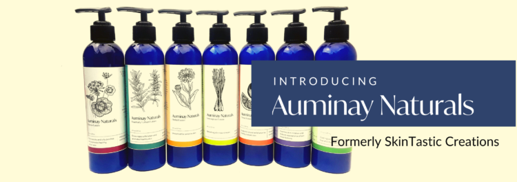 Auminay Naturals Lotions Introducing Auminay Naturals formerly SkinTastic Creations